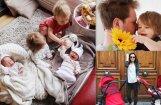 Trīs mazu bērnu mammas Jolantas ikdiena un atklāsmes jaunajā lomā
