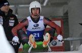 Команда Латвии— в призерах эстафеты на олимпийской трассе в Пхенчхане