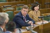 Saeima atbalsta Latvijas nodokļu reformu