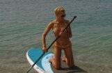 Foto: Gulbis bikini atrāda satriecošo figūru