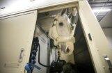 Foto: Kā uz Pasaules kausa finālu Lasvegasā ceļo Anda Vārnas un Kristapa Neretnieka zirgi