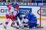 'Lada' garā pēcspēles metienu sērijā uzvar 'Jokerit'; SKA 'bullīšos' uzveic CSKA