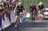 Frūme uzvar 'Tour de France' septītajā posmā; Viginss kļūst par kopvērtējuma līderi