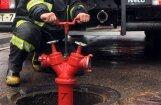 Dzēšot ugunsgrēku Kuldīgas slimnīcas katlu mājā, cieš divi glābēji