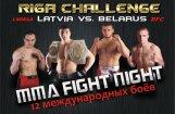 Бойцовский турнир Riga Challenge-1 по ММА — Латвия против Беларуси