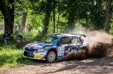 Rovanpera pārliecinoši triumfē rallijā 'Latvija'
