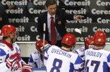 KHF atbrīvo Bikovu  un Zaharkinu no izlases treneru amata