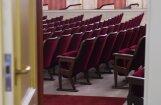 Latvijas Nacionālajā teātrī uzstādīti 803 jauni skatītāju krēsli