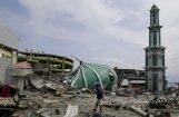 Indonēzijas Sulavesi salā sācies vulkāna izvirdums
