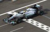 Niko Rosbergs pārliecinoši ātrākais otrajā treniņā