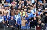 Video: Braitonas 'Albion' futbolisti un fani līksmo par iekļūšanu Anglijas premjerlīgā