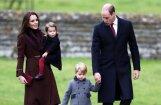 Принц Уильям с супругой лично проводят принца Джорджа в школу