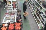 Policija lūdz atpazīt par zādzību Valmierā aizdomās turētu vīrieti