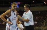 Latvijas vīriešu basketbola izlase atkārtoti zaudē Melnkalnei