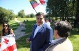 Саакашвили: Россия может захватить Беларусь, а угроза странам Балтии стала меньшей