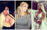 Populāras latvietes, kuras lepojas ar mākslīgajām krūtīm
