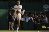 Federers nonāk uzvaras attālumā no kļūšanas par astoņkārtējo Vimbldonas čempionu
