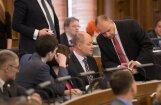 Deputāta Liepiņa dēļ tiek 'norauta' Saeimas pavasara sesijas pirmā sēde