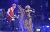 Foto: Latviešu mūzikas lielkoncerts pulcē pašmāju popmūzikas eliti