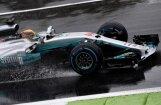 Hamiltons Moncā izcīna 69. 'pole position' un labo Šūmahera rekordu