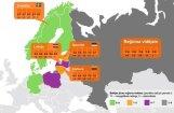 Пять важных тенденций в экономике Латвии и соседних стран