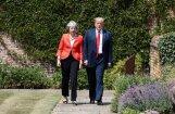 Meja un Tramps sola slēgt brīvās tirdzniecības līgumu pēc 'Brexit'