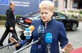 Грибаускайте приветствует новые санкции США в отношении России