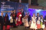 Ar spraigām cīņām aizvadīts Latvijas čempionāts standartdejās