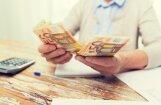После индексации пенсии вырастут в среднем на 18,27 евро