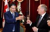 Михаила Саакашвили наградили орденом Трех звезд