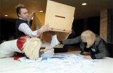 CVK apstiprina oficiālos 'valodas referenduma ' rezultātus
