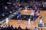 Video: Porziņģa bloks iesāk iespaidīgu 'Knicks' uzbrukumu