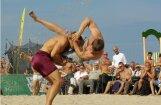 В Юрмале прошел чемпионат по пляжной борьбе
