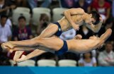 Fotoreportāža: Londonas olimpisko spēļu trešās sacensību dienas prieki un asaras