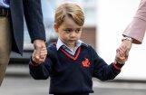ФОТО: Кейт не смогла проводить в школу принца Джорджа из-за токсикоза
