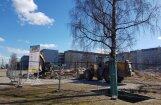 Lielveikalu kari: Purvciemā otrpus ielai no iecerētā 'Lidl' ceļ jaunu 'Rimi'