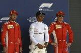 Hamiltons izcīna uzvaru Lielbritānijas 'Grand Prix' kvalifikācijā