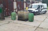 Салаcпилс: в ангаре обнаружено 1000 литров дизеля неизвестного происхождения