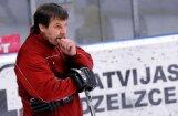 Ulmanis: Znaroka laiks Latvijas  hokeja  izlasē ir pagājis
