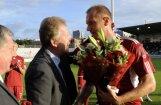 Latvijas futbolisti Igora Stepanova atvadu spēlē zaudē Somijai