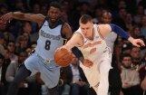 Porziņģis atgriežas ar 18 punktiem un veicina 'Knicks' uzvaru