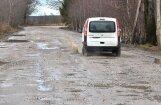 В Латвии начато массовое грейдирование грунтовых дорог