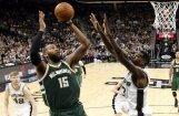 Bertānam 11 punkti un neizmantota iespēja 'Spurs' komandai izraut uzvaru pār 'Bucks'