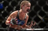 ВИДЕО: Девушка-боец UFC сломала руку о лоб соперницы