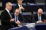 'Delfi' no Strasbūras: Eiropas problēmas ir pārspīlētas, paziņo Slovākijas prezidents