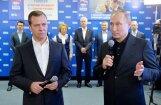 'Labāk par mums neviens nestrādā', pēc uzvaras vēlēšanās norāda Putins