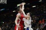 Bertāns ar 15 punktiem neglābj Milānas komandu no zaudējuma Eirolīgas līderei CSKA
