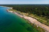 Трагедия на пляже в Лиепае: полиция просит отозваться свидетелей обвала