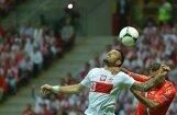 Mājiniece Polija nospēlē neizšķirti arī ar Krieviju