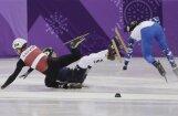 Šorttrekisti Puķītis un Zvejnieks skaidro savus atšķirīgos ceļus uz olimpisko ceturtdaļfinālu